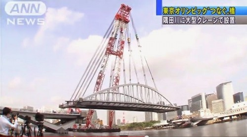 墨田川架橋工事1
