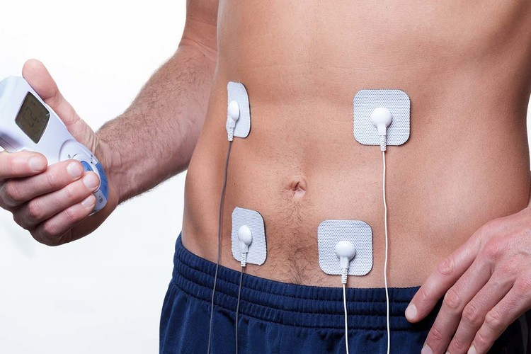 Electrical muscle stimulation ems training