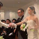長女の結婚式でも頭の中はこれでいっぱい!